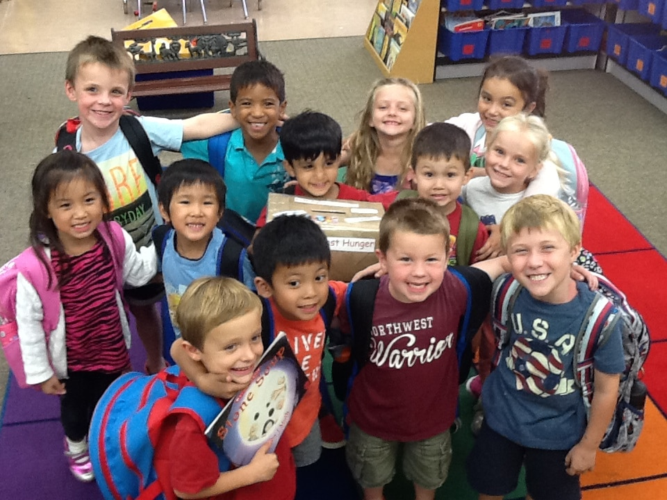 Stone Soup book with Kids Against Hunger Box