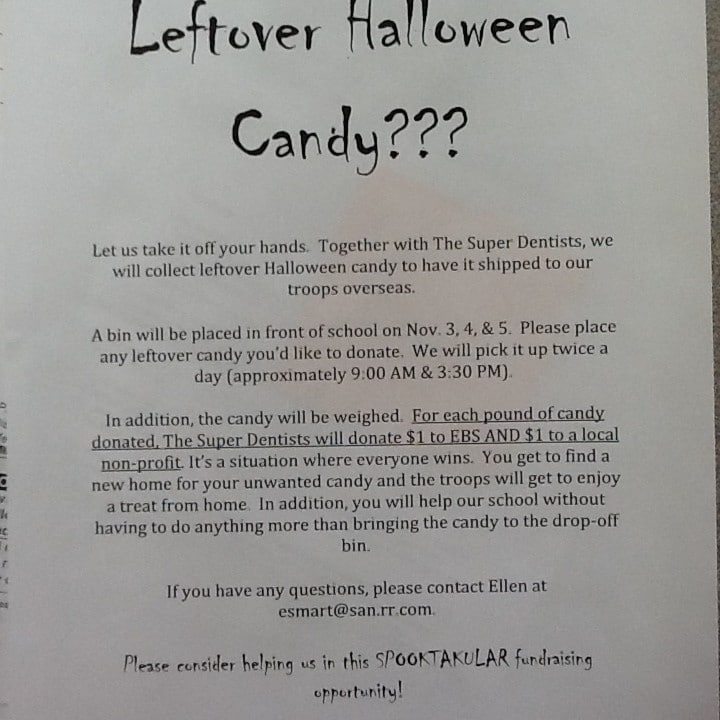 Left Over Candy Information