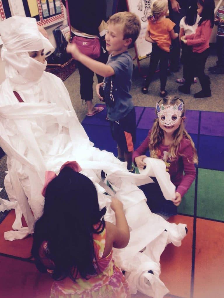 Mummy Teacher!