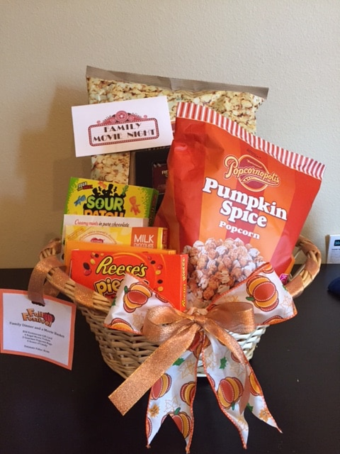 Fall Festival Basket