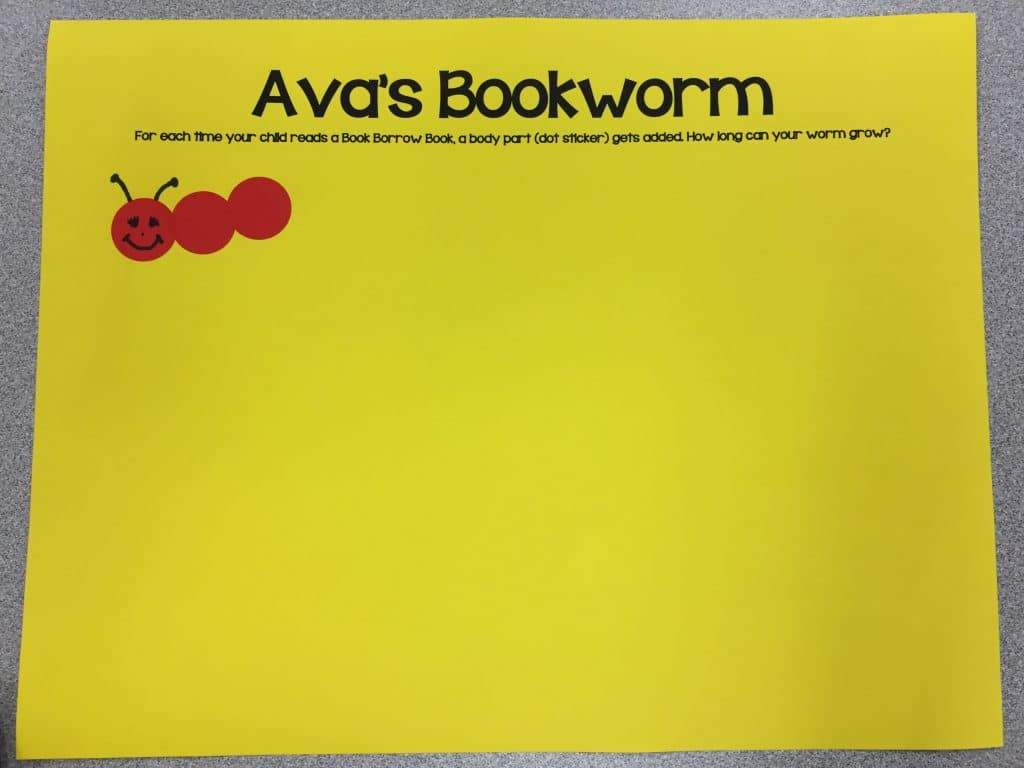 Here's an example of a bookworm that has 2 book read body parts added.